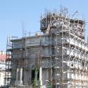 Biserica Sfanta Vineri - Herasca in plin proces de reconstructie