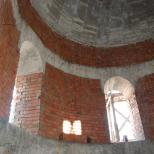 Interiorul noii Biserici Sfanta Vineri Herasca